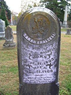 Sarah A Halsell