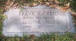 Frank R Craig