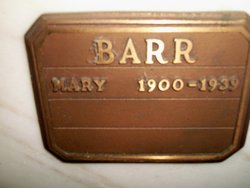 Mary <I>Wright</I> Barr