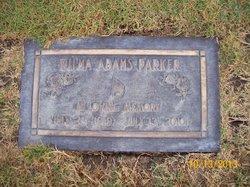 Wilma <I>Adams</I> Parker