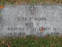 Rita T. <I>Wool</I> Patterson