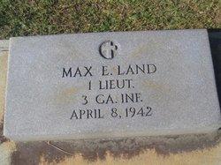 Judge Max E Land