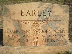 Elizabeth Ann <I>Jackson</I> Earley