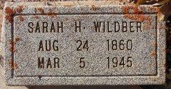 Sarah Wildber