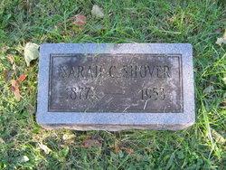 Sarah C <I>Moore</I> Shover
