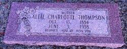 Allie Charlotte <I>Beaty</I> Thompson
