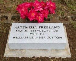 Artemissa <I>Freeland</I> Sutton