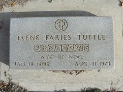 Irene Jessie <I>Faries</I> Tuttle
