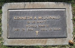 Kenneth A McDonald