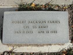 Robert J Faries