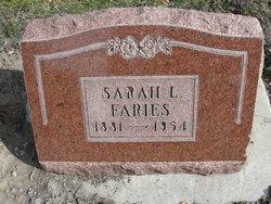 Sarah Luena <I>Smith</I> Faries