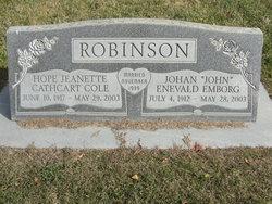 Hope Jeanette <I>Cathcart</I> Robinson