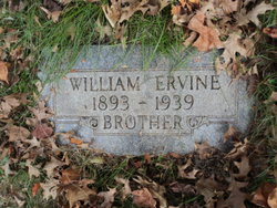 William F Ervine