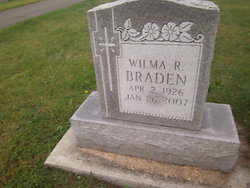 Wilma R <I>Sayne</I> Braden