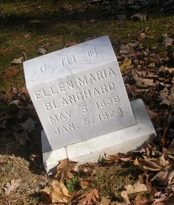 Ellen Maria <I>Reynolds</I> Blanchard