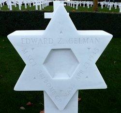 MSGT Edward Z. M. Gelman