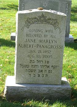 Jane Marlyn <I>Albert</I> Panagrossi