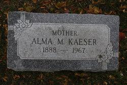 Alma M <I>Bach</I> Kaeser