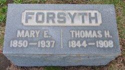 Mary Elizabeth <I>Strickland</I> Forsyth
