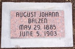 August Johann Balzen