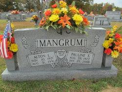 """Alton Louie """"Speedy"""" Mangrum"""