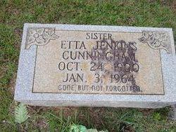 Etta <I>Jenkins</I> Cunningham