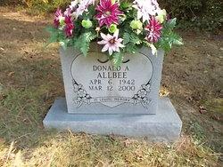 "Donald Albert ""Sonny"" Allbee"