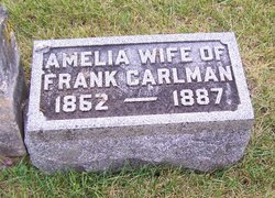 "Amelia ""Minnie"" <I>Wickman</I> Carlman"