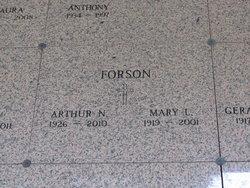 Mary Lillian <I>Opacity</I> Forson