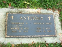 Patricia Ellen Trisha Parks Anthony