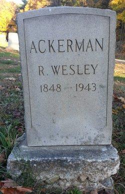 R. Wesley Ackerman