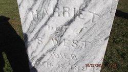 Harriet Tiffany <I>Bicknell</I> West