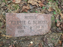 Carrie Grace <I>Baisden</I> Burgess