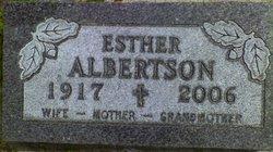Esther <I>Hoff</I> Albertson