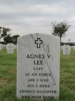 Agnes V Lee