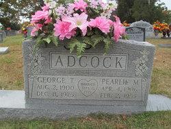 Pearlie <I>Mangrum</I> Adcock