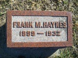 Frank M Haynes