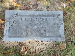 "Lillie Marie ""Dude"" <I>Rose</I> Aters"