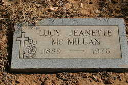 Lucy Jeanette McMillan