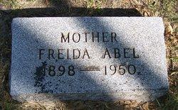 Freida <I>Schwarzburg</I> Abel