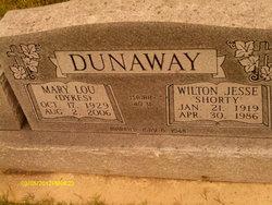 Mary Lou <I>Dykes</I> Dunaway