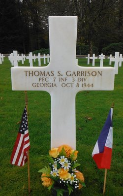 PFC Thomas S Garrison