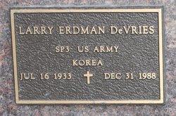 Larry Erdman Devries