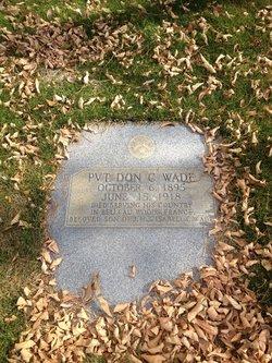Don Crandall Wade