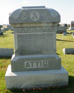 """Anna E. """"Annie"""" <I>Ellinger</I> Attig"""