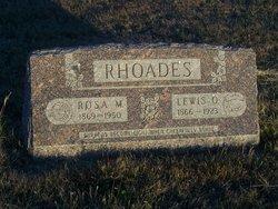 Lewis O Rhoades