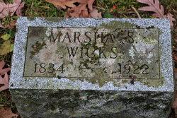 Marsha A. <I>Stocking</I> Wicks