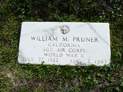Sgt William M Pruner