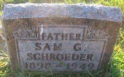 """Salomon G. """"Sam"""" Schroeder"""
