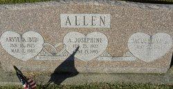"""Arvie A. """"BID"""" Allen"""